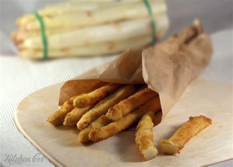 come cucinare gli asparagi bianchi asparagi impanati ricetta con asparagi