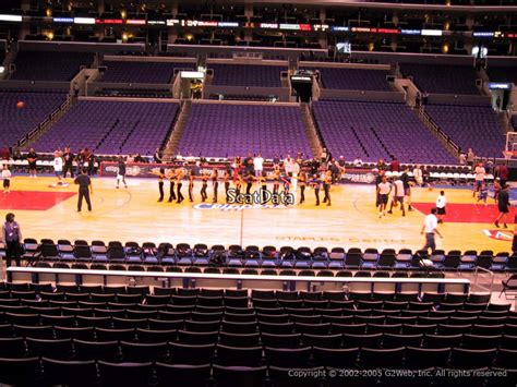 staples center section 119 section 111 seat view