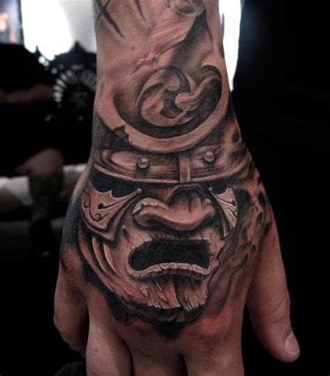japanese tattoo on hand samurai tattoos designs ideas and meaning tattoos for you
