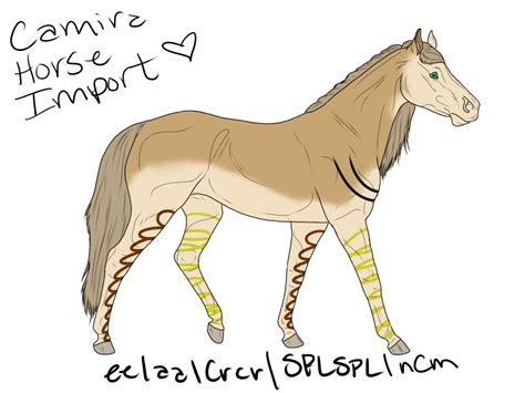 Horse Giveaway - camira horse giveaway import by tilachihuahua on deviantart