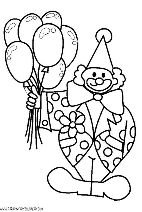 dibujos infantiles para colorear de payasos imagenes para colorear de payasos con globos imagui