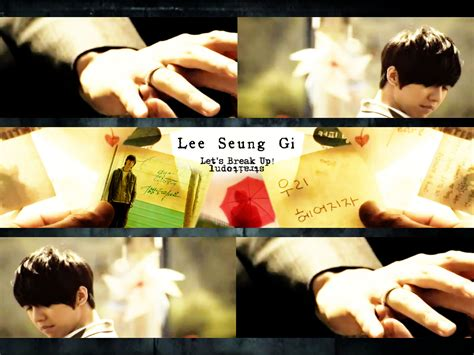 lee seung gi let s break up lee seunggi let s break up wallpaper by ludostrait