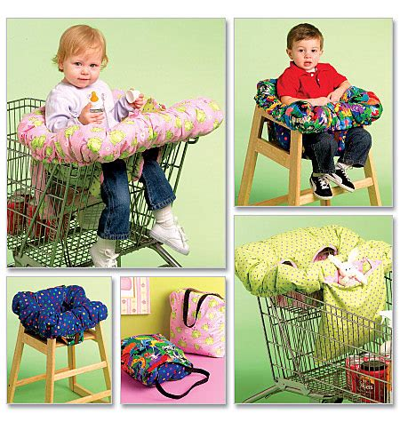 Handmade Shopping Cart Covers - m5721 3 in 1 shopping cart cover crafts dolls pets