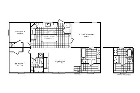 clayton floor plans clayton home floor plan manufactured homes modular