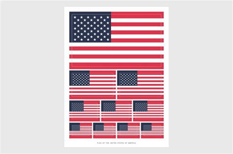 usa flag stickers weatherproof vinyl american flag