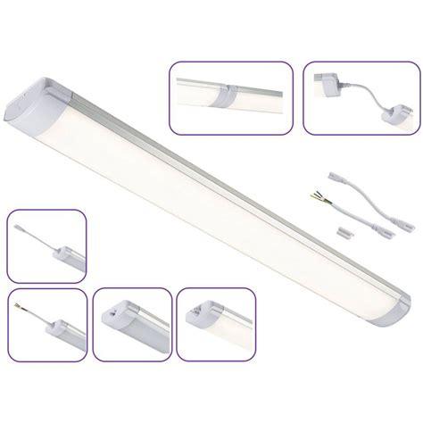 led strip light fittings 10 watt 280mm ultra thin led strip light batten fitting