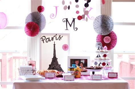 17 Best images about Parisian Bridal Shower on Pinterest