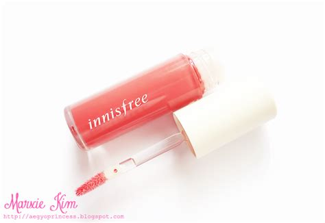 Lipstik Innisfree innisfree color glow lipstick and glossy lip lacquer review marxie