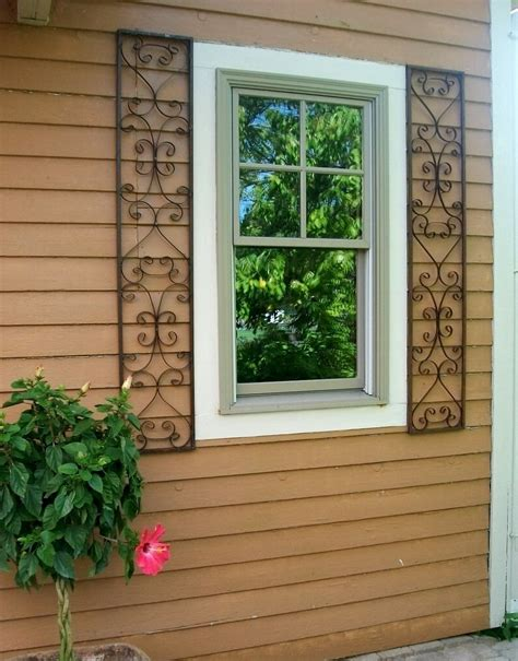 shutters for house windows new orleans wrought iron exterior window shutters