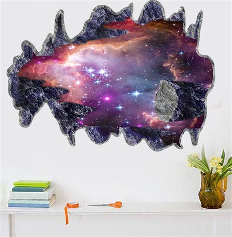 3d Aufkleber Weltraum by Haus Wohnzimmer Wand Decke Weltraum Muster 3d Dekorative