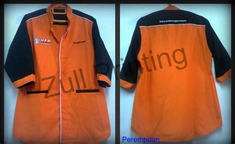 Printer Baju zull printing baju f1 korporat