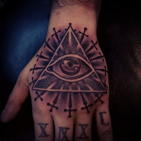 pyramid eye tattoo 35 pyramid tattoos