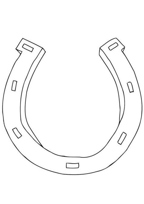 coloring page horseshoe coloring page horseshoe img 21699