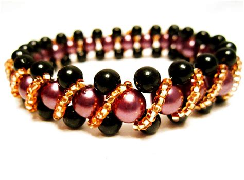 with bead free pattern for beaded bracelet magic