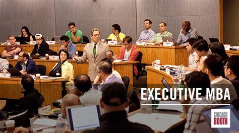 Executive Mba What Is It by Executive Mba The Of Chicago Booth School Of