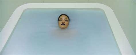 rihanna song in bathtub rihanna strips off in bathtub promo for anti daily star