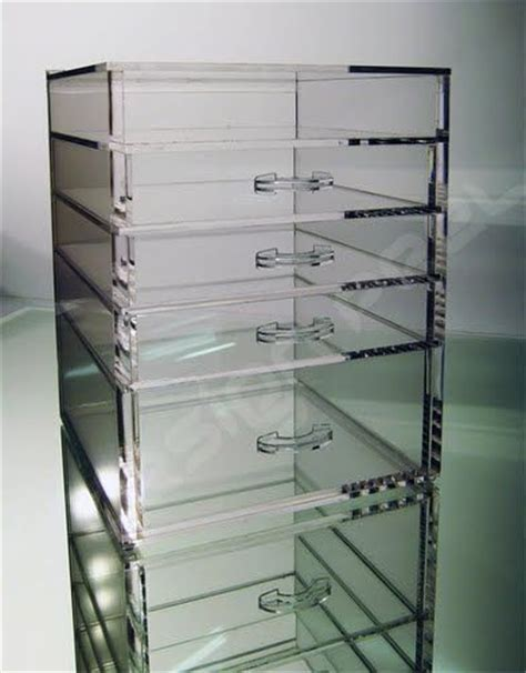 clear stackable makeup drawers the clear cube 4 drawer clear cube organization