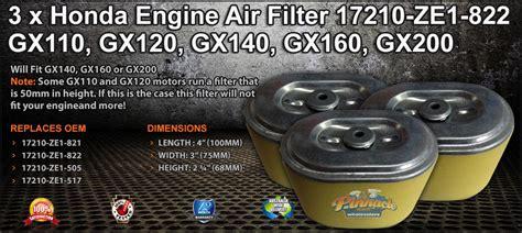 Cover Mobil Indoor Datsun Go 70 Murah Berkualitas honda engine air filter 17210 ze1 822 gx110 gx120 gx140 gx160 gx200