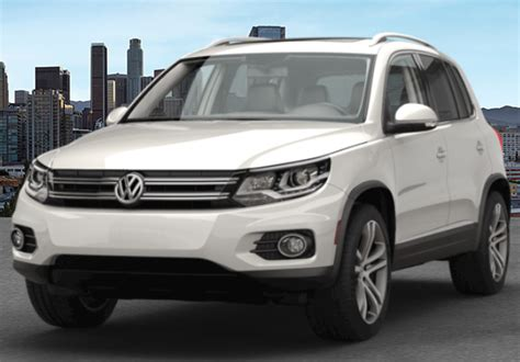 2017 Volkswagen Tiguan Color Options