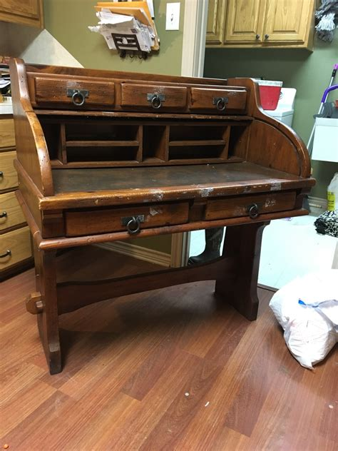 I A Link Rawhide Dresser Nightstand And Rolltop Desk And My Antique My Antique Furniture Collection Hello I Recently Purchased A Link Rawhide Roll Top