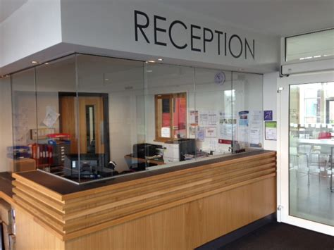 reception desk security screens reception screens supplied and fitted bartley glass