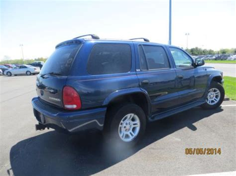 how do cars engines work 2002 dodge durango electronic throttle control buy used 2002 dodge durango 4x4 slt engine noises as is no reserve runs and drive in