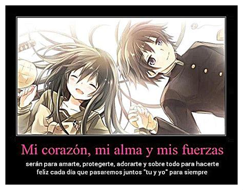 imagenes de anime romanticas con frases lindas frases rom 225 nticas con im 225 genes de animes de amor