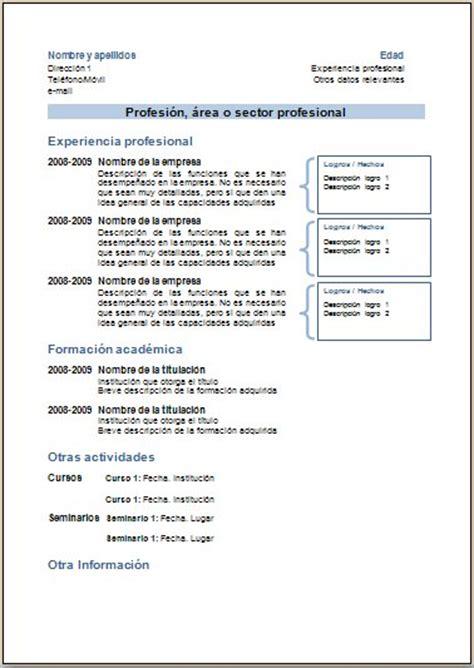 Plantillas De Curriculum Vitae Y Cartas De Presentacion 7pasos Ejemplos Y Plantillas De Curriculums V 237 Tae Y Cartas De Presentaci 243 N