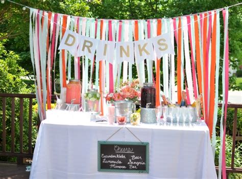 backyard engagement party decorations save