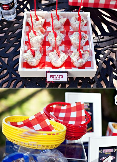 summer bbq theme free party printables hostess with the mostess 174