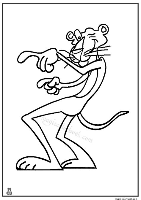 pink panther coloring pages pink panther and pals free colouring pages