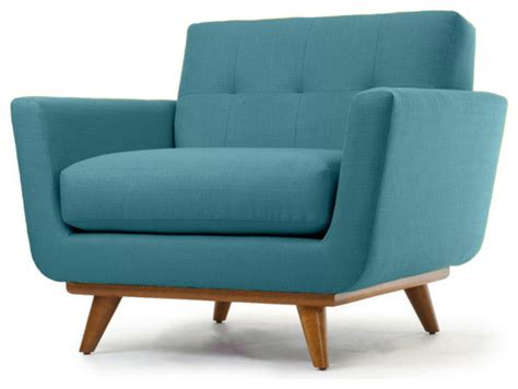 Turquoise Accent Chair Nixon Chair Lucky Turquoise Contemporary Armchairs And Accent Chairs By Thrive Home