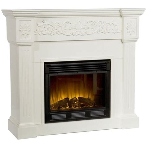 martin huntington electric fireplace in ivory fe9279