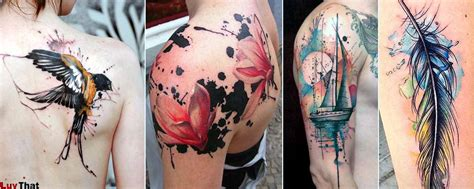 watercolor style tattoo 25 amazing watercolor tattoos luvthat
