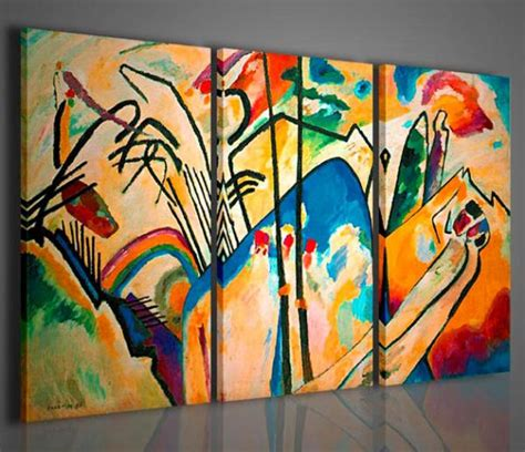 Vespa Tua On Canvas quadri moderni quadri pittori famosi vasilij kandisky iii