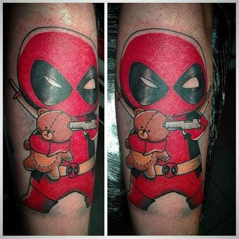 deadpool tattoo designs 70 dashing deadpool designs redefining deadpool