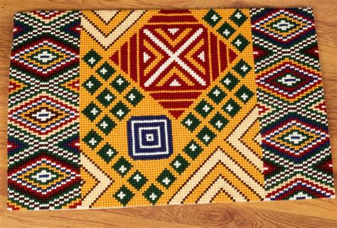 cross stitch rug ethnic motif rug cross stitch kit cross stitch vervaco pn 0150463
