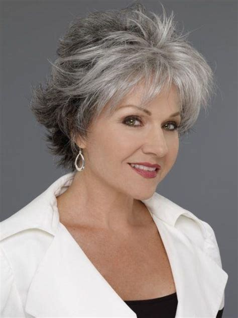 haircuts for 60 year olds with grey hair 15 best ideas of short haircuts 60 year old woman