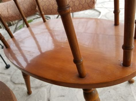 george b bent furniture george b bent table with built in l my antique