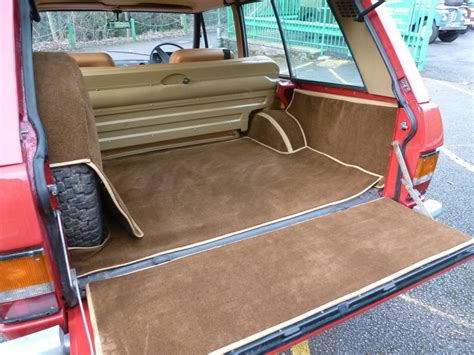 vintage land rover interior eoe 652k 1972 quot suffix a quot 2 door classic range rover