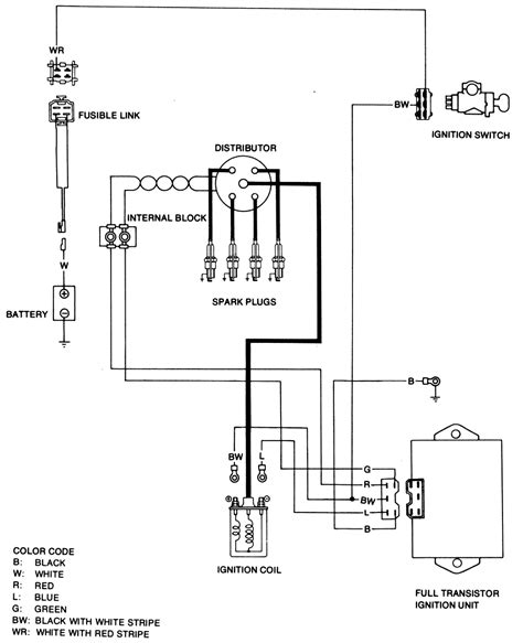 ignition coil ballast resistor wiring diagram wiring