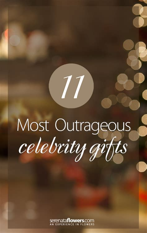 11 most outrageous celebrity gifts pollennation