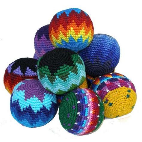 hacky sack hacky sacks crochet crg001 amanofairtrade