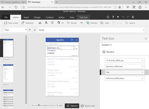 c form design not showing powerapps and sharepoint