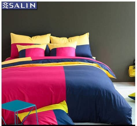 red white and blue bedding 3d pink yellow green blue red white bedding set king queen