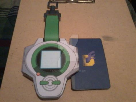 Digivice Papercraft - henry s d power digivice papercraft by supervegeta71290 on