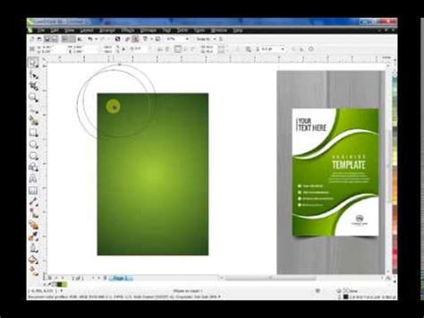 How To Make Awesome Flyer Template Using Coreldraw Youtube Coreldraw Design Templates