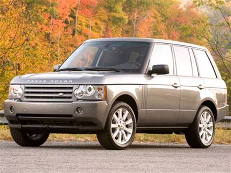 2009 land rover range rover | pricing, ratings & reviews