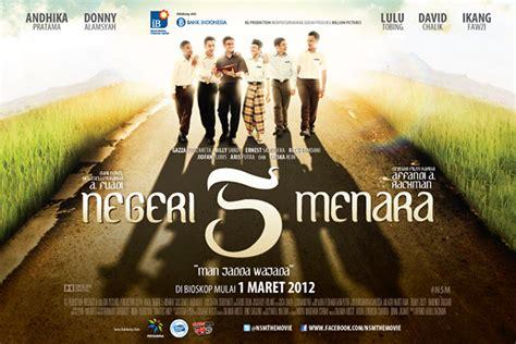 film negeri dongeng movie negeri 5 menara movie poster on behance