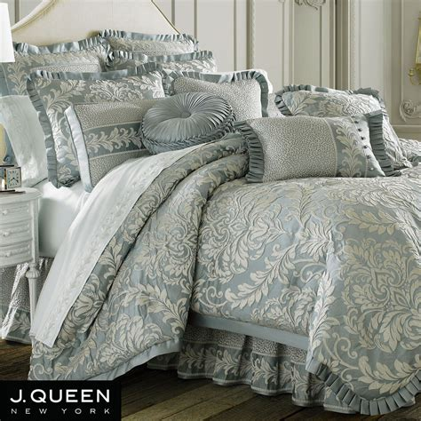 j queen new york bedding queen bedding sets blue home vanderbilt comforter bedding